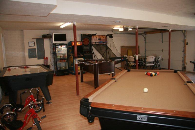Huge Game Room!