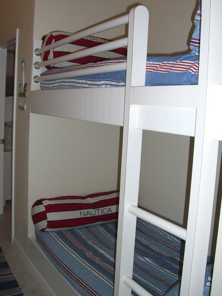 Bunks in Hall